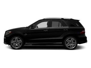 Obsidian Black Metallic 2014 Mercedes-Benz M-Class Pictures M-Class Utility 4D ML63 AMG AWD photos side view
