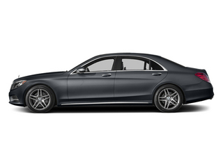 Anthracite Blue Metallic 2014 Mercedes-Benz S-Class Pictures S-Class Sedan 4D S550 AWD photos side view