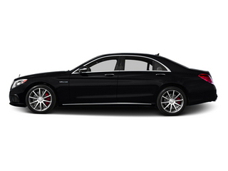 Black 2014 Mercedes-Benz S-Class Pictures S-Class Sedan 4D S63 AMG AWD V8 Turbo photos side view