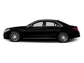 Magnetite Black Metallic 2014 Mercedes-Benz S-Class Pictures S-Class Sedan 4D S63 AMG AWD V8 Turbo photos side view