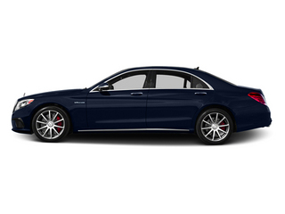 Lunar Blue Metallic 2014 Mercedes-Benz S-Class Pictures S-Class Sedan 4D S63 AMG AWD V8 Turbo photos side view