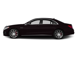 Ruby Black Metallic 2014 Mercedes-Benz S-Class Pictures S-Class Sedan 4D S63 AMG AWD V8 Turbo photos side view