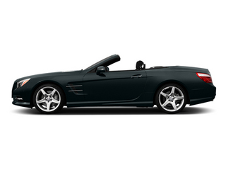 Steel Gray Metallic 2014 Mercedes-Benz SL-Class Pictures SL-Class Roadster 2D SL550 V8 Turbo photos side view