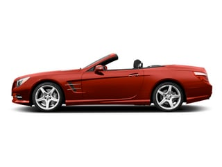 Hyacinth Red Metallic 2014 Mercedes-Benz SL-Class Pictures SL-Class Roadster 2D SL550 V8 Turbo photos side view