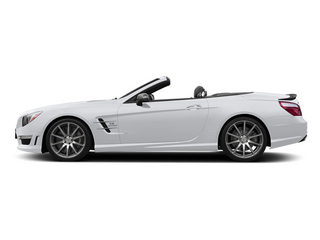 Polar White 2014 Mercedes-Benz SL-Class Pictures SL-Class Roadster 2D SL63 AMG V8 Turbo photos side view