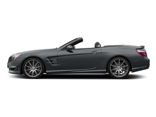 Shadow Grey Matte 2014 Mercedes-Benz SL-Class Pictures SL-Class Roadster 2D SL63 AMG V8 Turbo photos side view