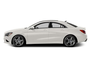 Cirrus White 2014 Mercedes-Benz CLA-Class Pictures CLA-Class Sedan 4D CLA250 AWD I4 Turbo photos side view