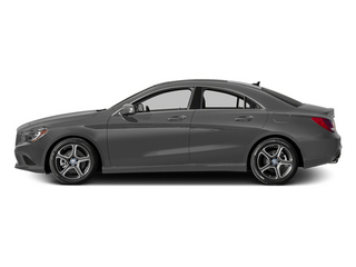 Mountain Gray Metallic 2014 Mercedes-Benz CLA-Class Pictures CLA-Class Sedan 4D CLA250 AWD I4 Turbo photos side view