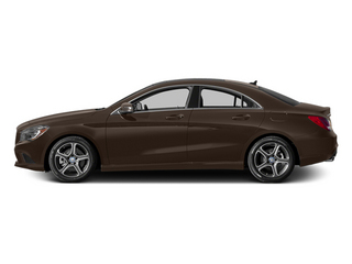 Cocoa Brown Metallic 2014 Mercedes-Benz CLA-Class Pictures CLA-Class Sedan 4D CLA250 AWD I4 Turbo photos side view
