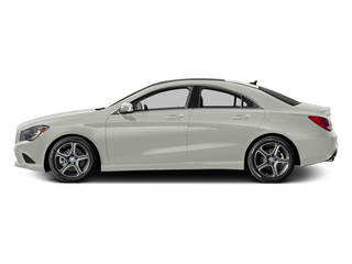 Magno Polar Silver 2014 Mercedes-Benz CLA-Class Pictures CLA-Class Sedan 4D CLA250 AWD I4 Turbo photos side view