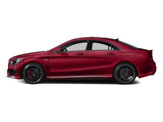 Jupiter Red 2014 Mercedes-Benz CLA-Class Pictures CLA-Class Sedan 4D CLA45 AMG AWD I4 Turbo photos side view