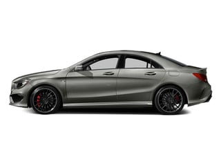 Polar Silver Metallic 2014 Mercedes-Benz CLA-Class Pictures CLA-Class Sedan 4D CLA45 AMG AWD I4 Turbo photos side view
