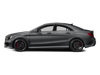 Magno Polar Silver 2014 Mercedes-Benz CLA-Class Pictures CLA-Class Sedan 4D CLA45 AMG AWD I4 Turbo photos side view