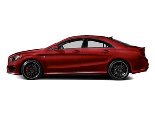 Patagonia Red 2014 Mercedes-Benz CLA-Class Pictures CLA-Class Sedan 4D CLA45 AMG AWD I4 Turbo photos side view