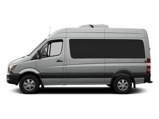 Silver Gray 2014 Mercedes-Benz Sprinter Passenger Vans Pictures Sprinter Passenger Vans Passenger Van photos side view