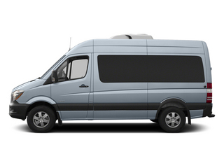 Blue Gray 2014 Mercedes-Benz Sprinter Passenger Vans Pictures Sprinter Passenger Vans Passenger Van photos side view