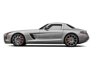 designo Magno Alanite Gray (Matte Finish) 2014 Mercedes-Benz SLS AMG GT Pictures SLS AMG GT 2 Door Coupe photos side view