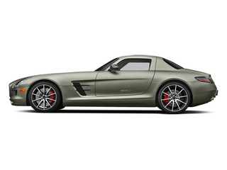 AMG Magno Monza Gray (Matte Finish) 2014 Mercedes-Benz SLS AMG GT Pictures SLS AMG GT 2 Door Coupe photos side view