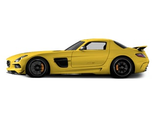 AMG Solarbeam Yellow 2014 Mercedes-Benz SLS AMG Black Series Pictures SLS AMG Black Series 2 Door Coupe Black Series photos side view