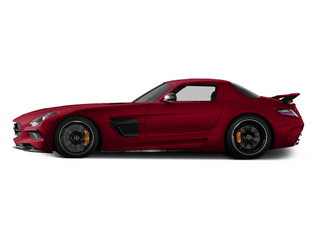 Mars Red 2014 Mercedes-Benz SLS AMG Black Series Pictures SLS AMG Black Series 2 Door Coupe Black Series photos side view
