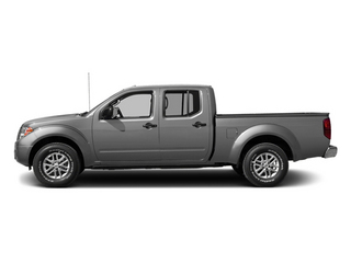 Brilliant Silver 2014 Nissan Frontier Pictures Frontier Crew Cab Desert Runner 2WD photos side view