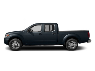 Graphite Blue 2014 Nissan Frontier Pictures Frontier Crew Cab Desert Runner 2WD photos side view