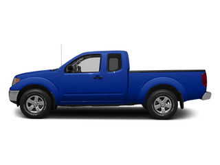 Metallic Blue 2014 Nissan Frontier Pictures Frontier King Cab SV 2WD photos side view