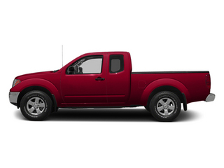 Lava Red 2014 Nissan Frontier Pictures Frontier King Cab SV 2WD photos side view
