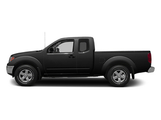 Super Black 2014 Nissan Frontier Pictures Frontier King Cab SV 2WD photos side view