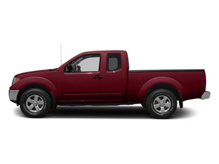 Cayenne Red 2014 Nissan Frontier Pictures Frontier King Cab SV 2WD photos side view