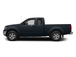 Graphite Blue 2014 Nissan Frontier Pictures Frontier King Cab SV 2WD photos side view
