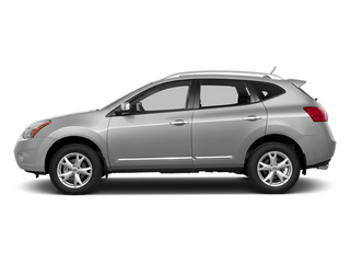 Frosted Steel 2014 Nissan Rogue Select Pictures Rogue Select Utility 4D S 2WD I4 photos side view