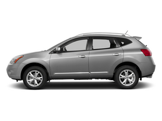 Brilliant Silver 2014 Nissan Rogue Select Pictures Rogue Select Utility 4D S 2WD I4 photos side view