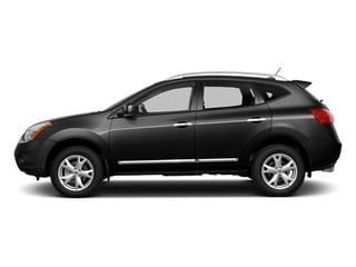 Super Black 2014 Nissan Rogue Select Pictures Rogue Select Utility 4D S 2WD I4 photos side view