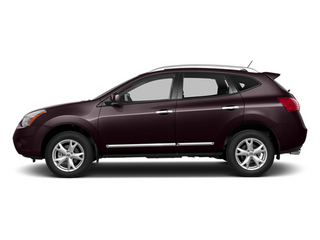 Black Amethyst 2014 Nissan Rogue Select Pictures Rogue Select Utility 4D S 2WD I4 photos side view