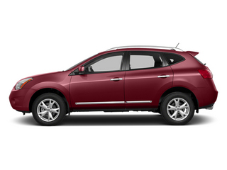 Cayenne Red 2014 Nissan Rogue Select Pictures Rogue Select Utility 4D S 2WD I4 photos side view