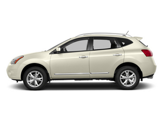 Pearl White 2014 Nissan Rogue Select Pictures Rogue Select Utility 4D S 2WD I4 photos side view