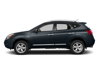 Graphite Blue 2014 Nissan Rogue Select Pictures Rogue Select Utility 4D S 2WD I4 photos side view