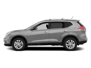 Brilliant Silver 2014 Nissan Rogue Pictures Rogue Utility 4D SL AWD I4 photos side view