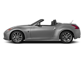 Brilliant Silver Metallic 2014 Nissan 370Z Pictures 370Z Roadster 2D Touring V6 photos side view