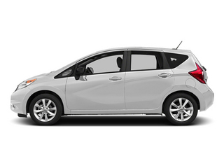 Aspen White Pearl 2014 Nissan Versa Note Pictures Versa Note Hatchback 5D Note S Plus I4 photos side view