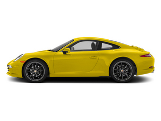 Racing Yellow 2014 Porsche 911 Pictures 911 Coupe 2D H6 photos side view