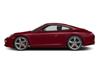Amaranth Red Metallic 2014 Porsche 911 Pictures 911 Coupe 2D Turbo AWD H6 photos side view