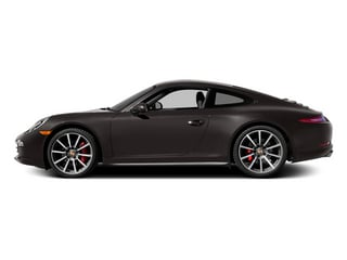 Anthracite Brown Metallic 2014 Porsche 911 Pictures 911 Coupe 2D 4S AWD H6 photos side view