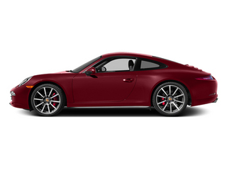 Amaranth Red Metallic 2014 Porsche 911 Pictures 911 Coupe 2D 4S AWD H6 photos side view