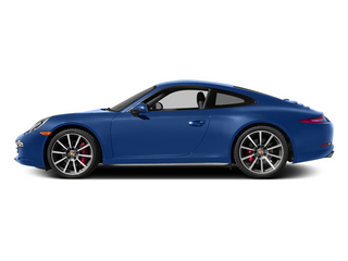 Sapphire Blue Metallic 2014 Porsche 911 Pictures 911 Coupe 2D 4S AWD H6 photos side view