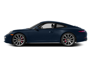 Dark Blue Metallic 2014 Porsche 911 Pictures 911 Coupe 2D 4S AWD H6 photos side view