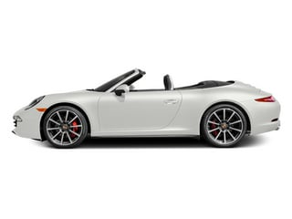 White 2014 Porsche 911 Pictures 911 Cabriolet 2D 4 AWD H6 photos side view
