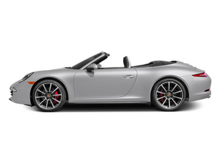 GT Silver Metallic 2014 Porsche 911 Pictures 911 Cabriolet 2D 4 AWD H6 photos side view