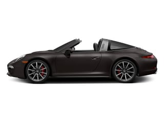 Anthracite Brown Metallic 2014 Porsche 911 Pictures 911 Coupe 2D 4 Targa AWD photos side view